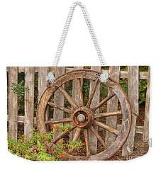 Old Spare Wheel Weekender Tote Bag