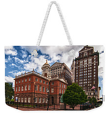 Old State House Weekender Tote Bag by Guy Whiteley
