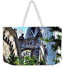 Old Stone Church - Cleveland Ohio - 1 Weekender Tote Bag
