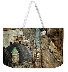 Old Stone Church Weekender Tote Bag by Dale Kincaid
