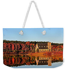 Old Stone Church Weekender Tote Bag