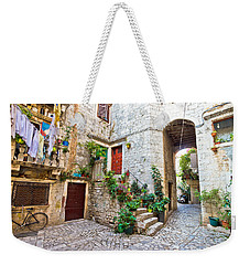 Old Stone Street Of Trogir Weekender Tote Bag by Brch Photography