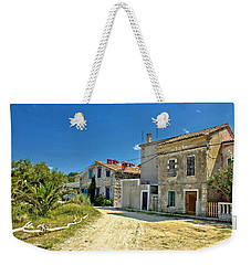 Old Streets Of Susak Island Weekender Tote Bag by Brch Photography
