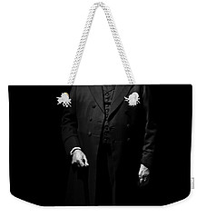 Vintage Gentlemen With Tall Hat - Style Has Not Deadline Weekender Tote Bag