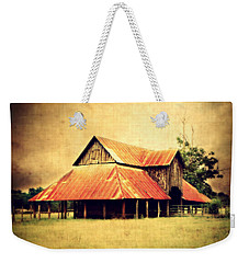 Old Texas Barn Weekender Tote Bag
