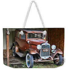 Weekender Tote Bag featuring the photograph Old Timer II by Victor Montgomery