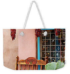 Old Town Albuquerque Shop Window Weekender Tote Bag