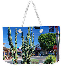 Old Town Cactus Weekender Tote Bag