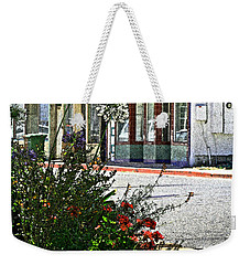 Old Town Flowers Weekender Tote Bag