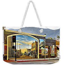 Old Town Mural Weekender Tote Bag