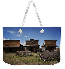 Old Trail Town Weekender Tote Bag
