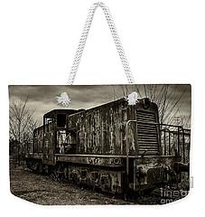 Old Train  Weekender Tote Bag