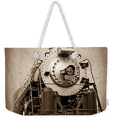 Old Trains Weekender Tote Bag