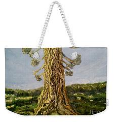 Old Tree In Spring Light Weekender Tote Bag