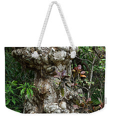 Weekender Tote Bag featuring the mixed media Old Tree by Rafael Salazar
