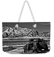 Old Truck Weekender Tote Bag by Robert Bales