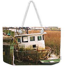 Old Tugboat By Jan Marvin Weekender Tote Bag