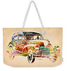 Old Volkswagen Weekender Tote Bag