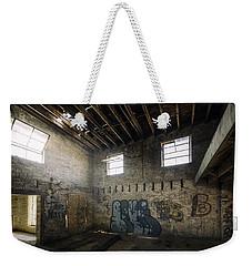 Old Warehouse Interior Weekender Tote Bag by Scott Norris