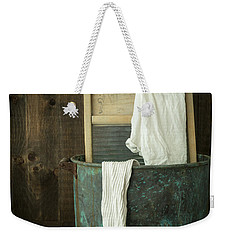 Old Washboard Laundry Days Weekender Tote Bag