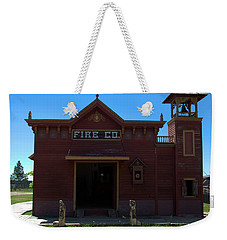 Old West Fire Station Weekender Tote Bag