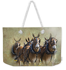 Old West Mule Train Weekender Tote Bag by Betty LaRue