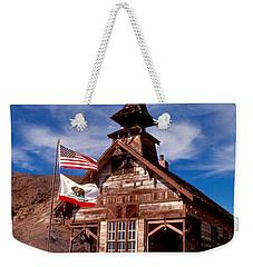 Old West School Days Weekender Tote Bag