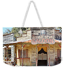 Old Western Saloon Weekender Tote Bag