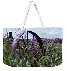 Old Wheel  Weekender Tote Bag