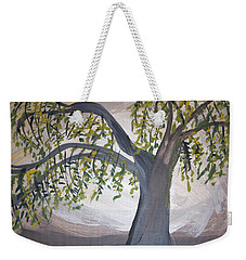 Old Willow Weekender Tote Bag by Cathy Anderson