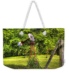 Old Windmill Weekender Tote Bag by Jonny D