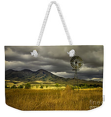 Old Windmill Weekender Tote Bag by Robert Bales