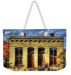 Old Yellow House In Buena Vista Weekender Tote Bag by Lanita Williams