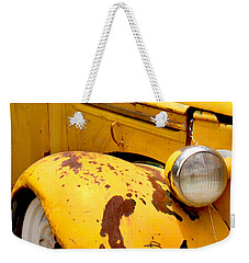 Old Yellow Truck Weekender Tote Bag