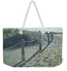 Weekender Tote Bag featuring the photograph Olde Worlde Beach by Jocelyn Friis