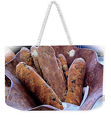 Olive Bread Weekender Tote Bag by Venetia Featherstone-Witty
