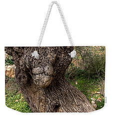 Olive Monster Weekender Tote Bag