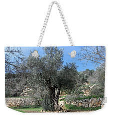 Olive Tree Weekender Tote Bag