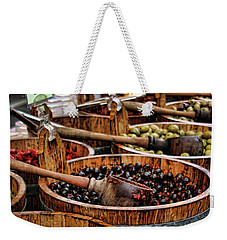 Olives Weekender Tote Bag by Heather Applegate