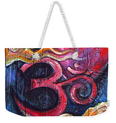 Om Heart Of Kindness Weekender Tote Bag
