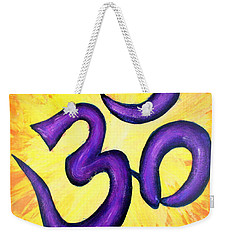 Om Symbol Art Painting Weekender Tote Bag