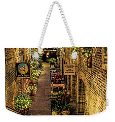 Omaha's Old Market Passageway Weekender Tote Bag