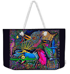 Omen Birds Weekender Tote Bag by Peter Gumaer Ogden