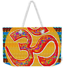 Ommantra Om Mantra Chant Yoga Meditation Spiritual Religion Sound  Navinjoshi  Rights Managed Images Weekender Tote Bag