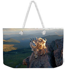 Weekender Tote Bag featuring the photograph On A Clear Day by Jim Garrison