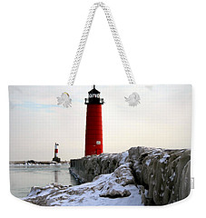 On A Cold Winter's Morning Weekender Tote Bag