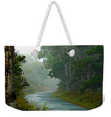 On A Country Road Weekender Tote Bag