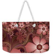 Weekender Tote Bag featuring the digital art On A Summer Evening by Gabiw Art