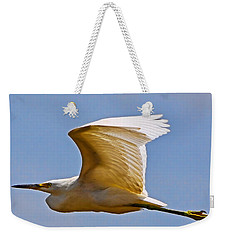 On Angel's Wings Weekender Tote Bag