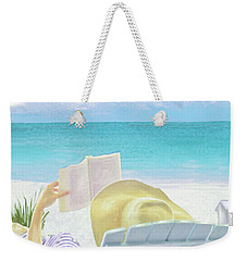 On Beach Time Weekender Tote Bag